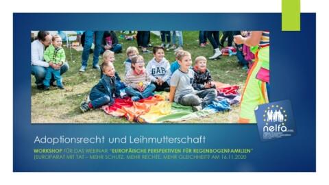 NELFA presentation Berlin – 26 November 2020